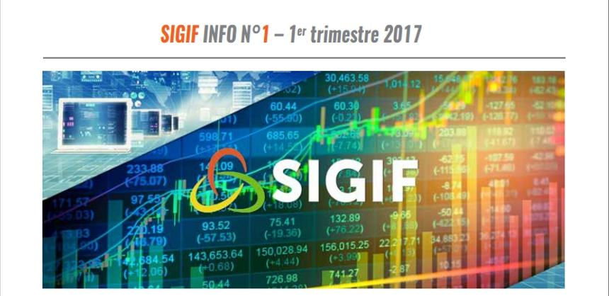 SIGIF INFO N°1 – 1er trimestre 2017